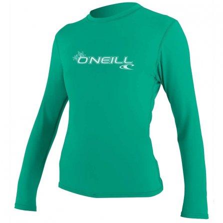 O'Neill Basic Long Sleeve Rash T-Shirt (Women's) - Seaglass