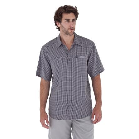 Royal Robbins San Pablo Short Sleeve Shirt (Men's) - Obsidian