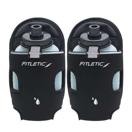 Fitletic 8oz Add On Water Bottle Pair -