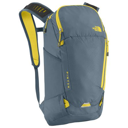 The North Face Pinyon Backpack  - Diesel Blue/Acid Yellow