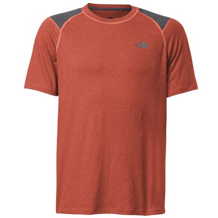 The North Face Short Sleeve Paramount Tech Shirt (Men's) - Zion Orange