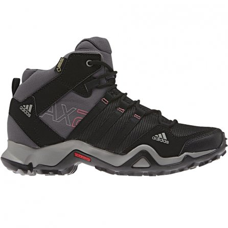 Adidas AX 2 Mid GORE-TEX Hiking Boot (Women's) - Carbon Black
