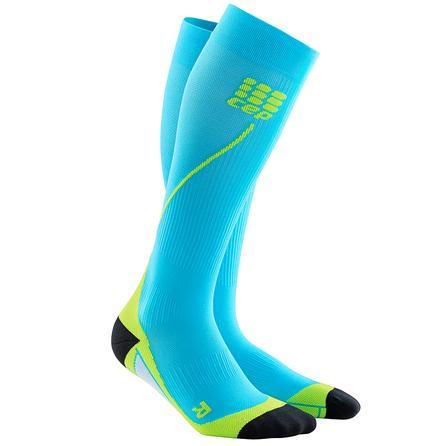 CEP Progressive Compression 2.0 Running Sock (Men's) - Hawaii Blue/Green