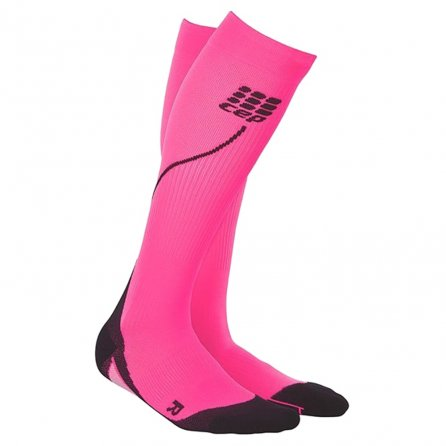 CEP Progressive Compression 2.0 Running Sock (Women's) - Pink/Black