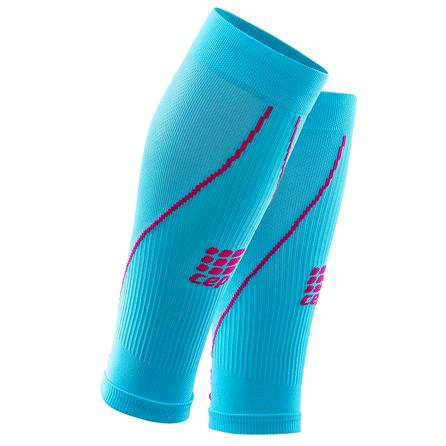 CEP Progressive 2.0 Calf Compression Sleeve (Women's) - Hawaii Blue/Pink