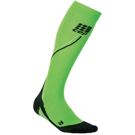 CEP Progressive Night Running Socks (Women's) - Flash Green