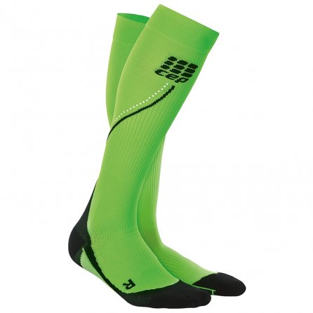 CEP Progressive Night Running Socks (Women's) - Flash Green