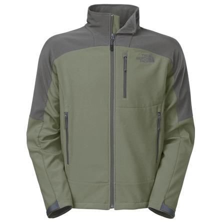 The North Face Shellrock Jacket (Men's) - Burnt Olive Green/Black Ink