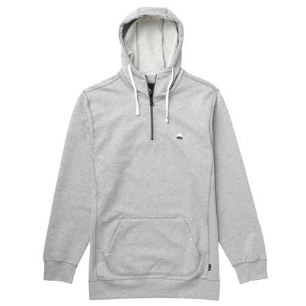 Burton Roe 1/4-Zip Hoodie (Men's) - Heather Pewter