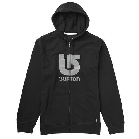 Burton Logo Vertical Full-Zip Hoodie (Men's) -