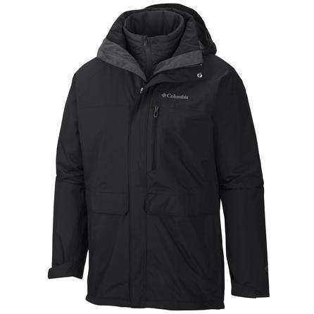 Columbia Portland Explorer Interchange 3-in-1 Omni-Heat Ski Jacket (Men's) - Black