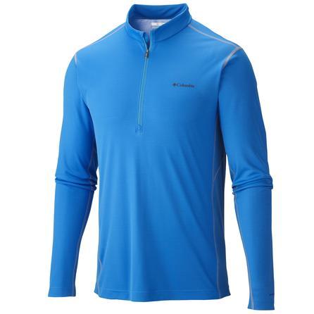 Columbia Mid-Weight II Longsleeve 1/2-Zip Omni-Heat Top (Men's) - Hyper Blue