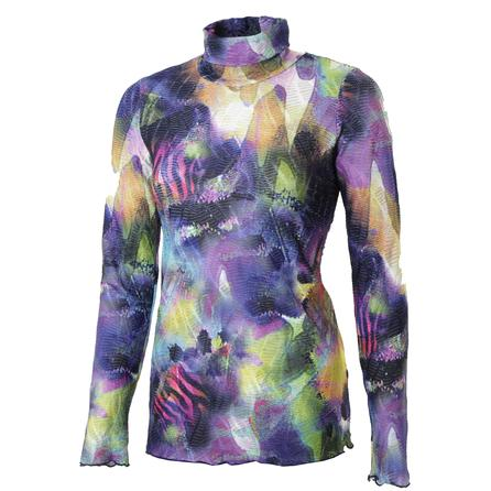 Sno Skins Printed Dreamcatcher Turtleneck Top (Women's) -