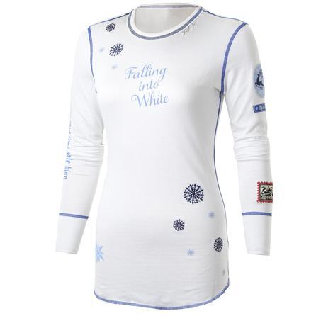 Alp-N-Rock Falling Into White Long Sleeve Top (Women's) -