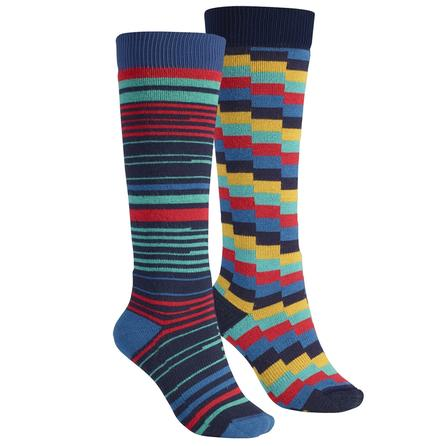 Burton Weekender Two-Pack Snowboard Socks (Women's) -