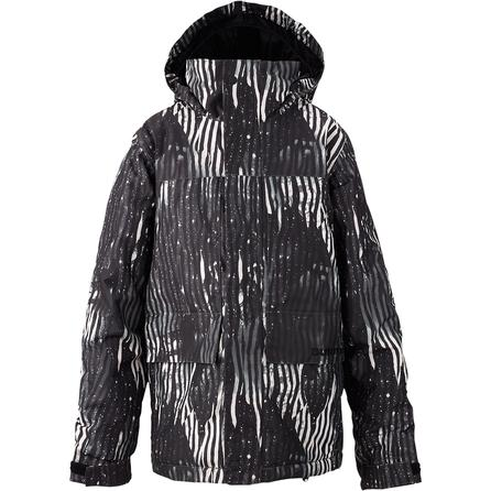 Burton White Collection Headliner Snowboard Jacket (Boys') -