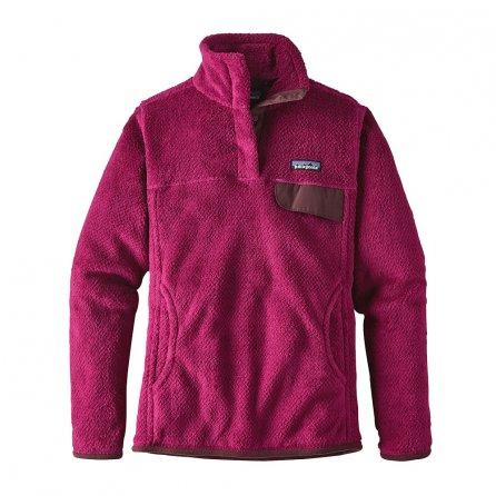 Patagonia Re-Tool Snap-T Fleece Pullover (Women's) - Magenta Xdye