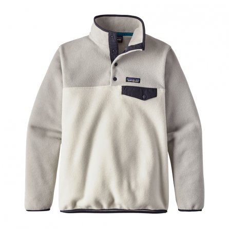 Patagonia Synchilla Lightweight Snap-T Pullover Fleece (Women's) - Birch White