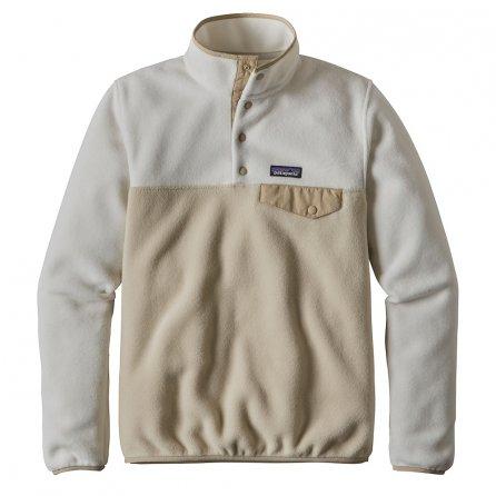 Patagonia Synchilla Lightweight Snap-T Pullover Fleece (Women's) - Bleached Stone/El Cap Khaki