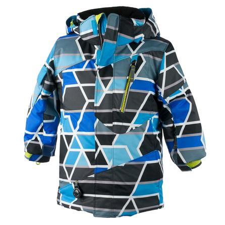 Obermeyer Sidewinder Ski Jacket (Little Boys') - Quad Print