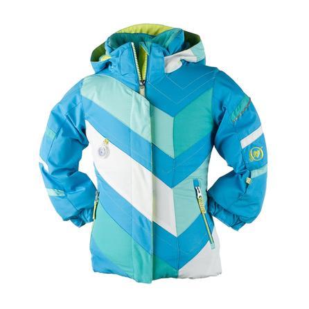 Obermeyer Chakra Ski Jacket (Little Girls') - Glacier Blue
