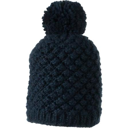 Obermeyer Sunday Knit Hat (Women's) - Blue Iris/White/Limelight