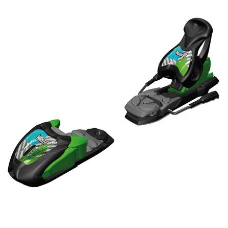 Marker Junior M 7.0 Free 85 Ski Binding (Kids') - Black/Green/Blue