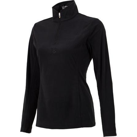 Spyder Shimmer Bug Velour Fleece Mid-Layer Top (Women's) -