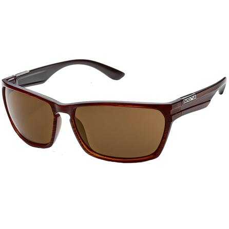 Suncloud Cutout Polarized Sunglasses - Burnished Brown