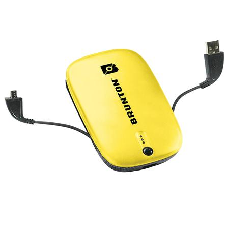 Brunton Heavy Metal 5500 Mobile Charger  - Yellow