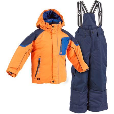Jupa Aleksander 2-Piece Ski Suit (Toddler Boys') - Dynamic Orange/Dark Ocean