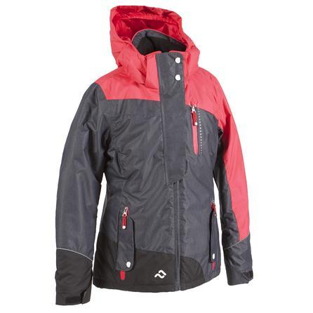 Jupa Adela Ski Jacket (Girls') - Dark Grey/Orange/Melon