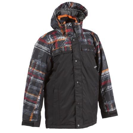 Jupa Fredrick Ski Jacket (Boys') - Dynamic Orange Print