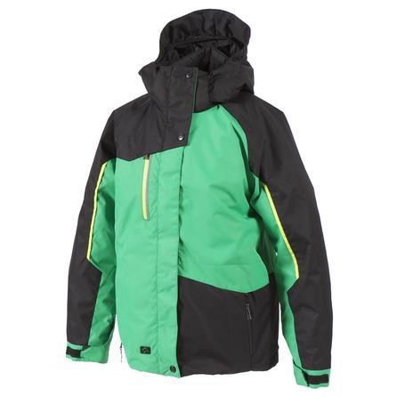 Jupa Pavlov Ski Jacket (Boys') - Palm Leaf