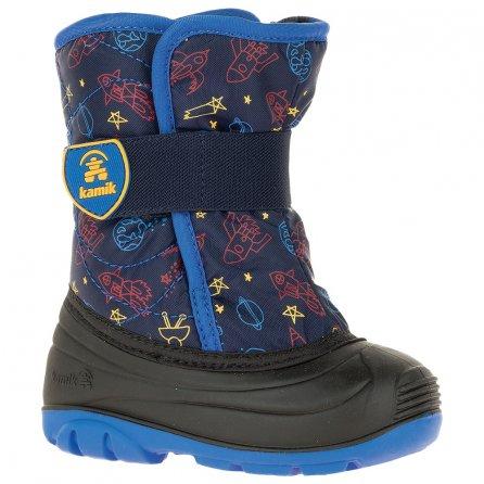 Kamik Snowbug Boot (Little Kids') - Navy Print