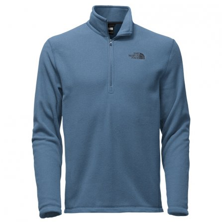 The North Face TKA 100 Glacier Half Zip Fleece Mid-Layer (Men's) - Shady Blue
