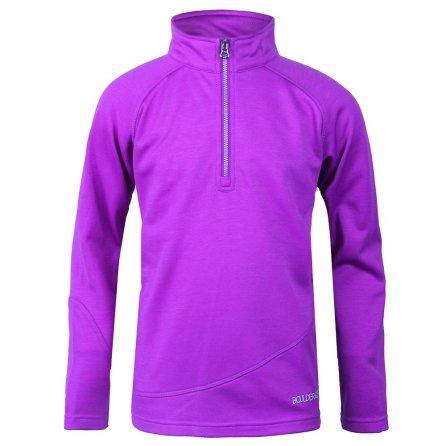 Boulder Gear Ruby Half Zip Fleece Mid-Layer (Girls') - Purple Cactus