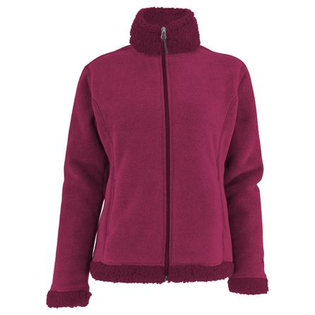 White Sierra Kodiak II Bonded Fleece Jacket (Women's) - Rosebud