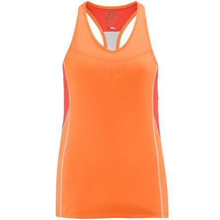 Salomon Start Impact Running Tank (Women's) - Orange Feeling