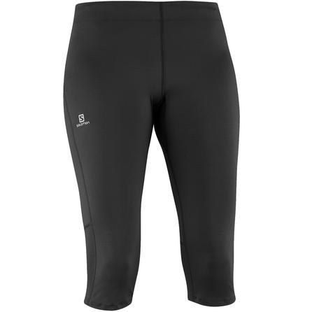 Salomon Start 3/4 Running Tights (Women's) - Black