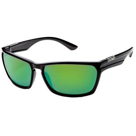 Suncloud Cutout Polarized Sunglasses - Black