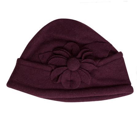 Elan Blanc Wool Cloche Hat (Women's) - Purple