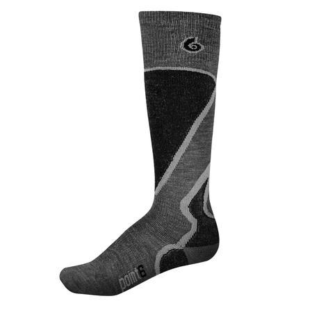 Point6 Pro Light Ski Sock (Men's) - Gray