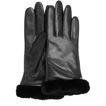 UGG Leather Smart Glove (Women's) - Black
