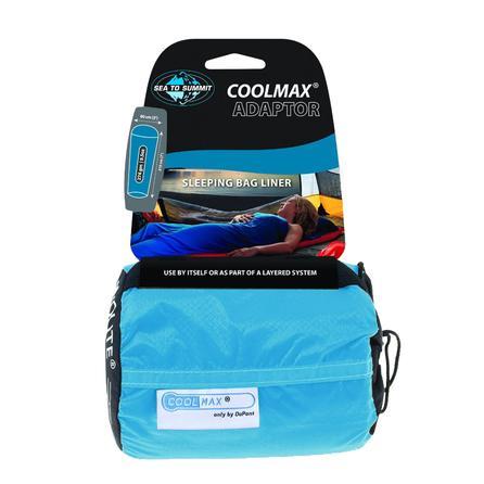 Sea to Summit Coolmax Traveler Sleeping Bag Liner - Blue