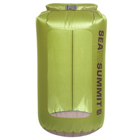 Sea to Summit 20L Ultra-Sil View Dry Sack - Lime