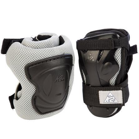 K2 Moto 2-Pack Wrist and Knee Pads (Men's) - Black/Gray