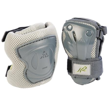 K2 Alexis 2-Pack Wrist and Knee Pads (Women's) - Gray/Green