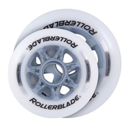 Rollerblade 100mm/90mm Inline Skate Wheel 8-Pack  -