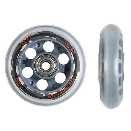 Rollerblade 80mm Inline Skate Wheel and Bearing 8-Pack Kit -